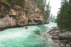 Kayaking-Maligne-Creek